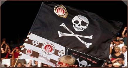 The Skull and Crossbones of FC St. Pauli