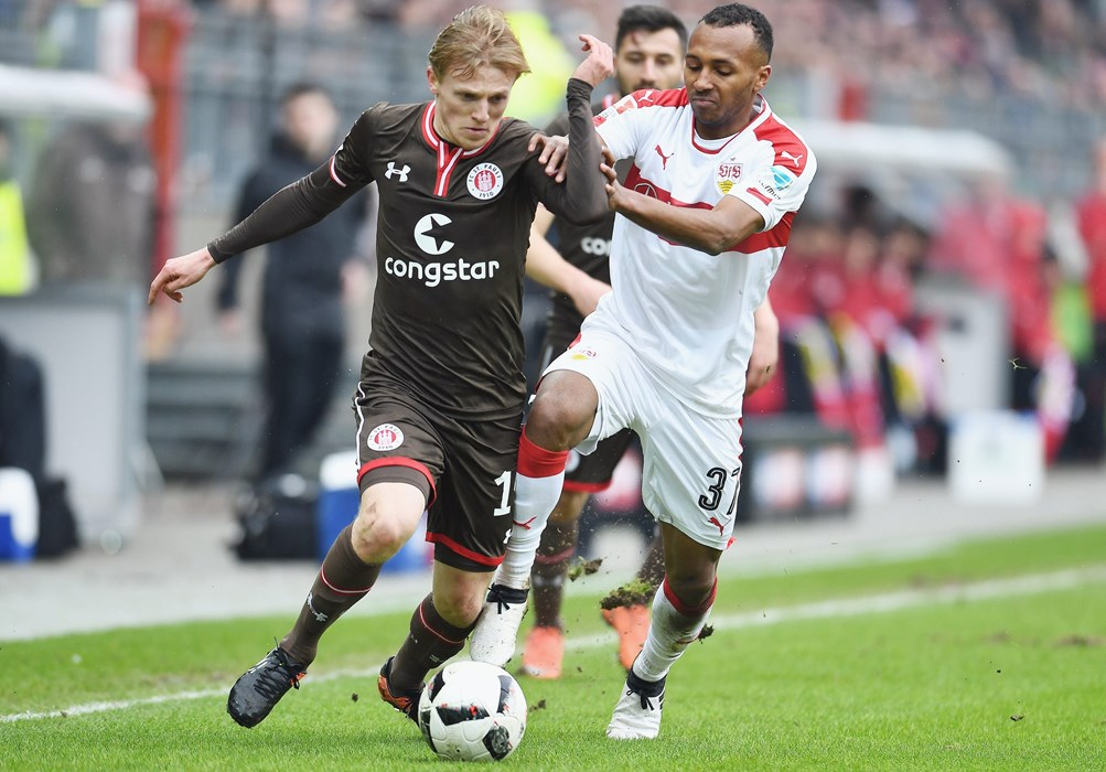 Mats Møller Dæhli & Co produced a committed performance in the first half against Stuttgart.