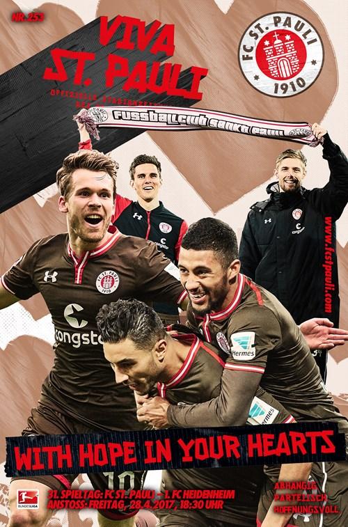 Die VIVA zum Heimspiel gegen den 1. FC Heidenheim