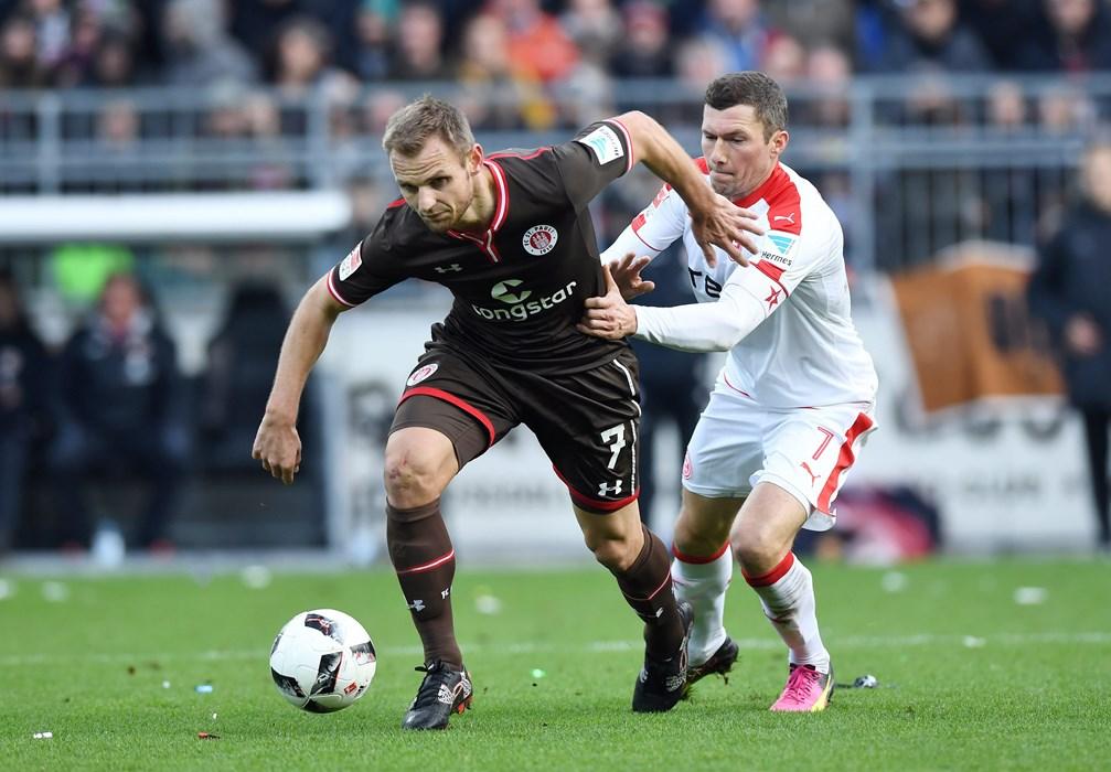 Bernd Nehrig stand 2016/17 insgesamt 31 Mal auf dem Rasen und avancierte zum besten Abfangjäger der 2. Bundesliga.