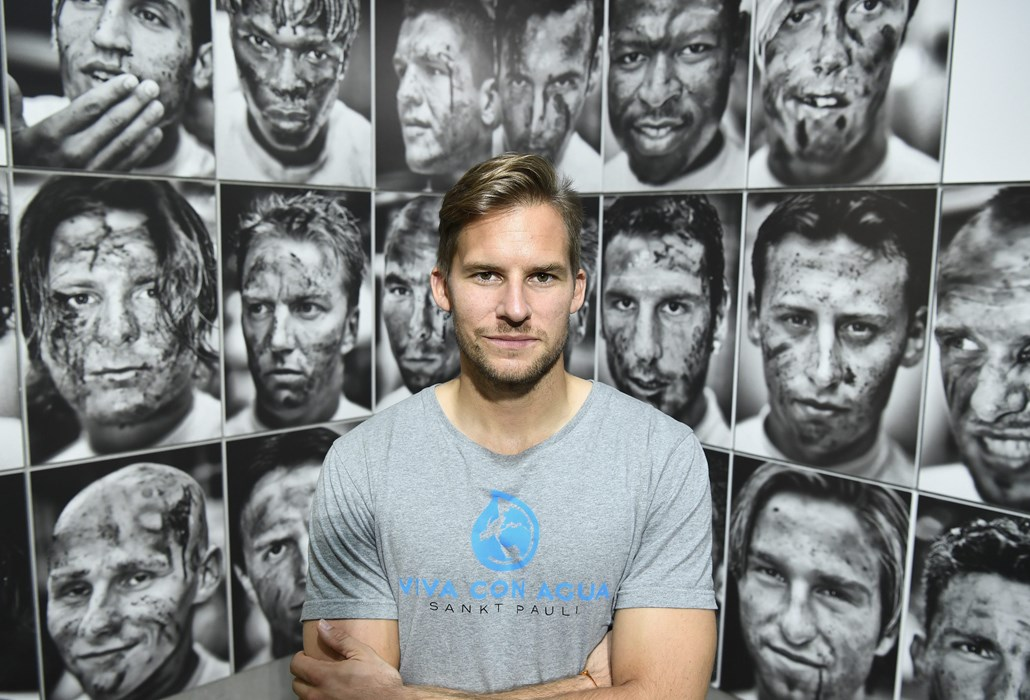Philipp Heerwagen beim Besuch der Ausstellung