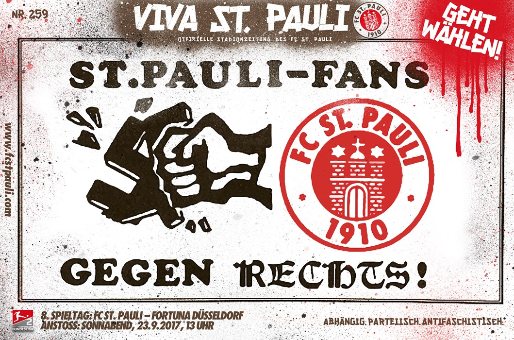 viva st pauli stadionzeitung gegen d sseldorf fc st pauli. Black Bedroom Furniture Sets. Home Design Ideas