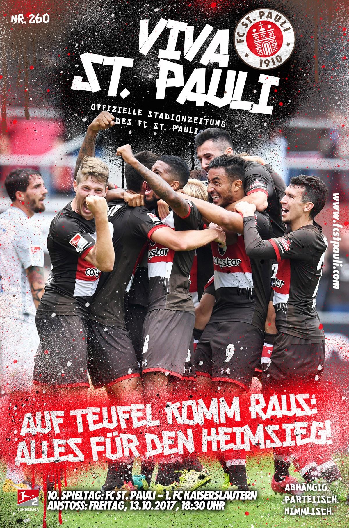 Unsere VIVA zum Spiel gegen den 1. FC Kaiserslautern
