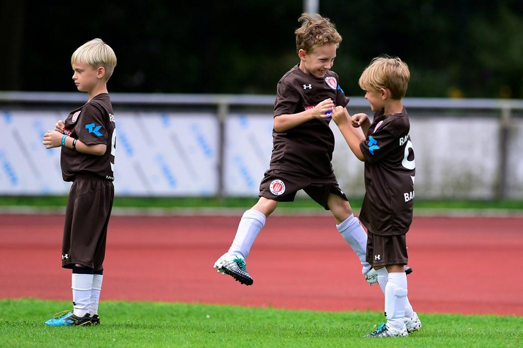 Fußballcamp bei den FC St. Pauli Rabauken