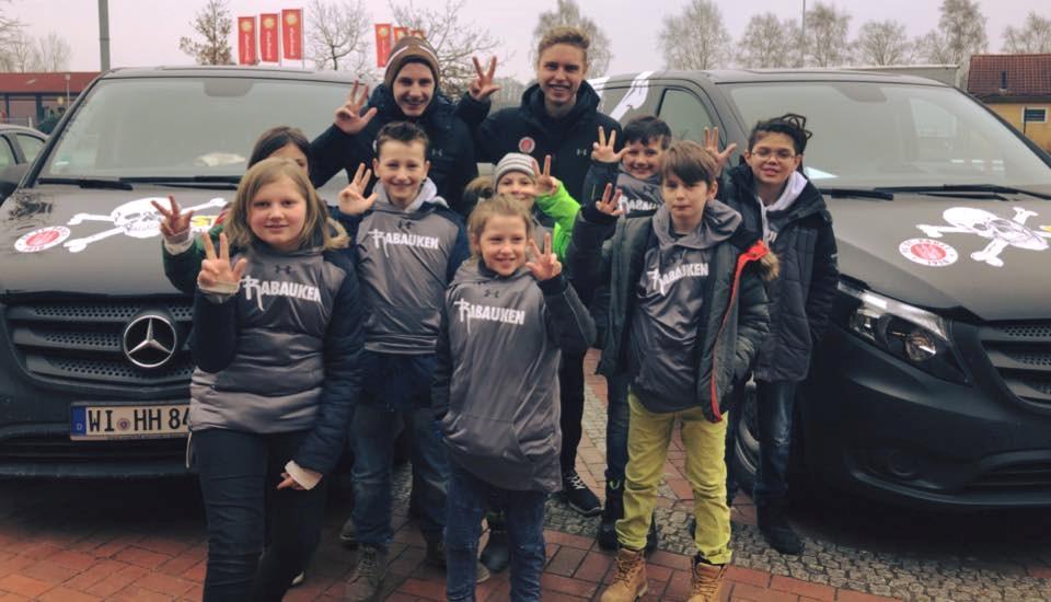 Die Rabauken auf dem Weg nach Düsseldorf