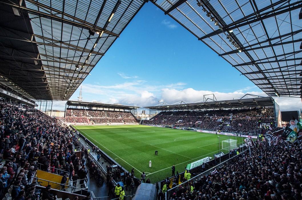 In puncto Auslastung landete das Millerntor-Stadion 2017/18 mal wieder auf dem ersten Platz. Im Schnitt blieben pro Spiel lediglich 152 Plätze frei.
