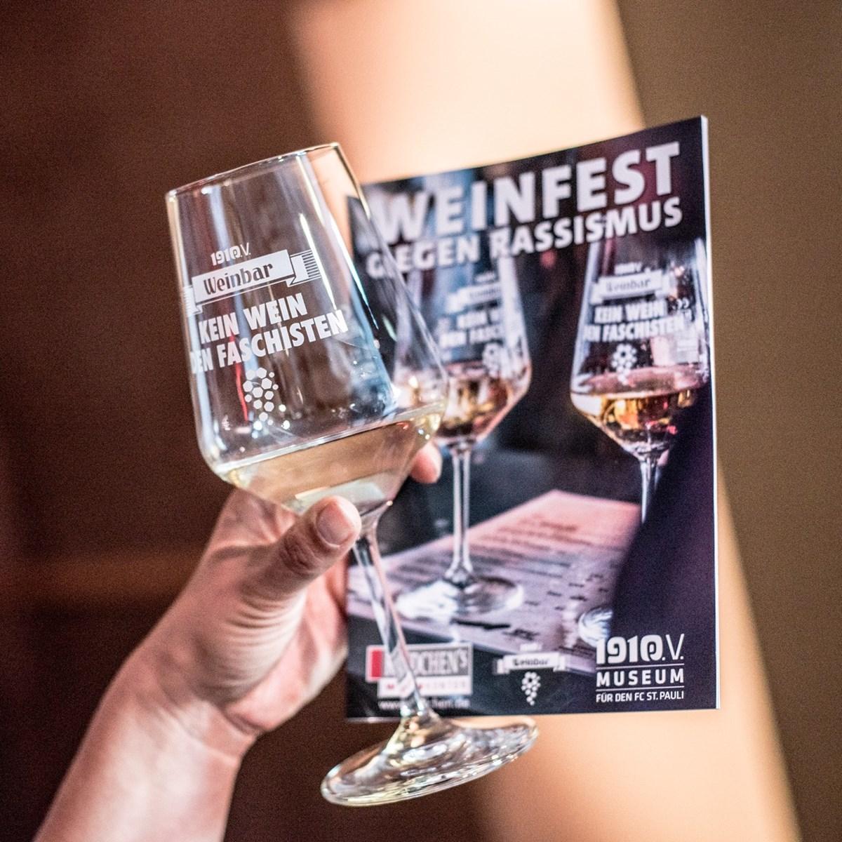 Das Programm zum Weinfest: Die meisten der präsentierten Weine können auch online unter www.rindchen.de/weinfest-2018 bestellt werden.