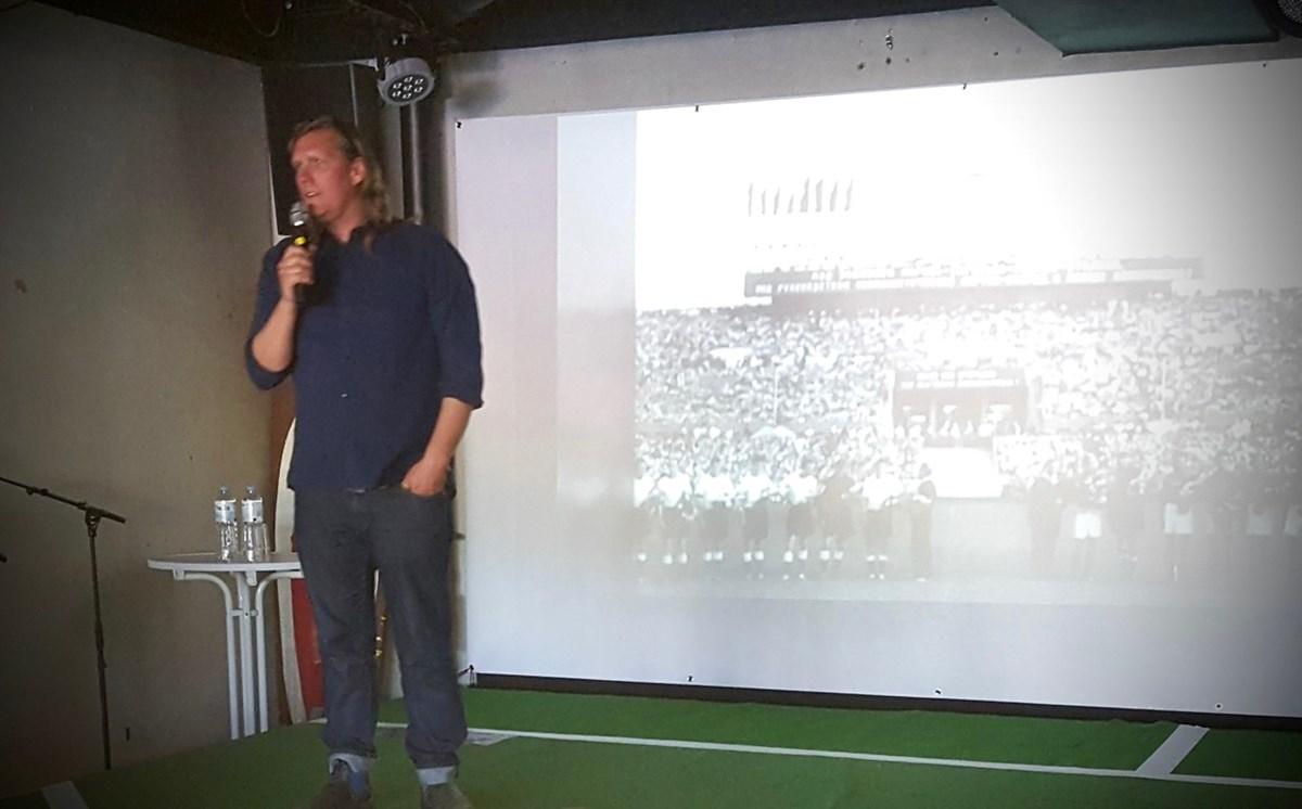 Dr. René Wiese vom Zentrum für deutsche Sportgeschichte. Foto: Thomas Glöy