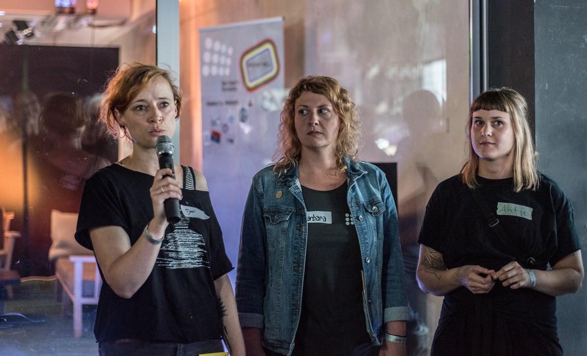 Froh über den erfolgreichen Start: Die Projekt-Koordinatorinnen