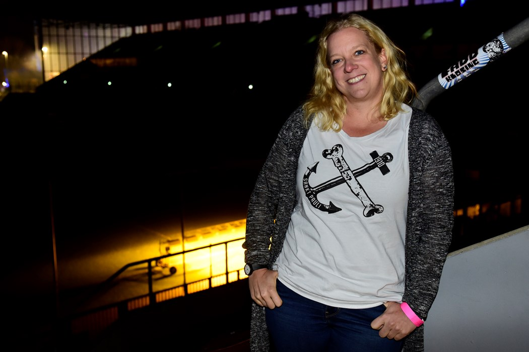 Sandra Schwedler (38), Agile Coach, Vereinsmitglied seit 1997, Abteilungen: AFM / Handball, Aufsichtsratsmitglied seit 2014, aus Hamburg
