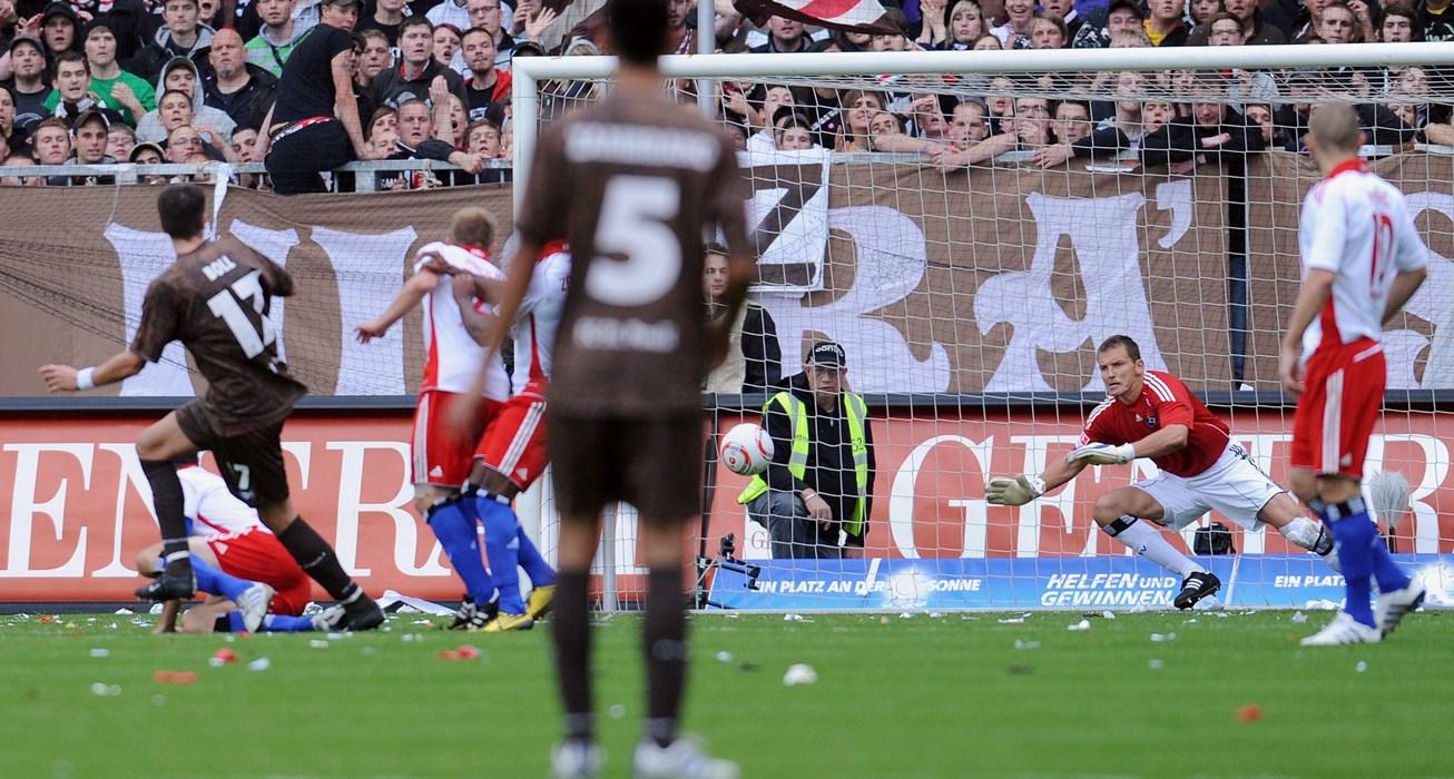 Der Schuss ins Glück - Bollers Treffer zum 1:0 gegen den HSV
