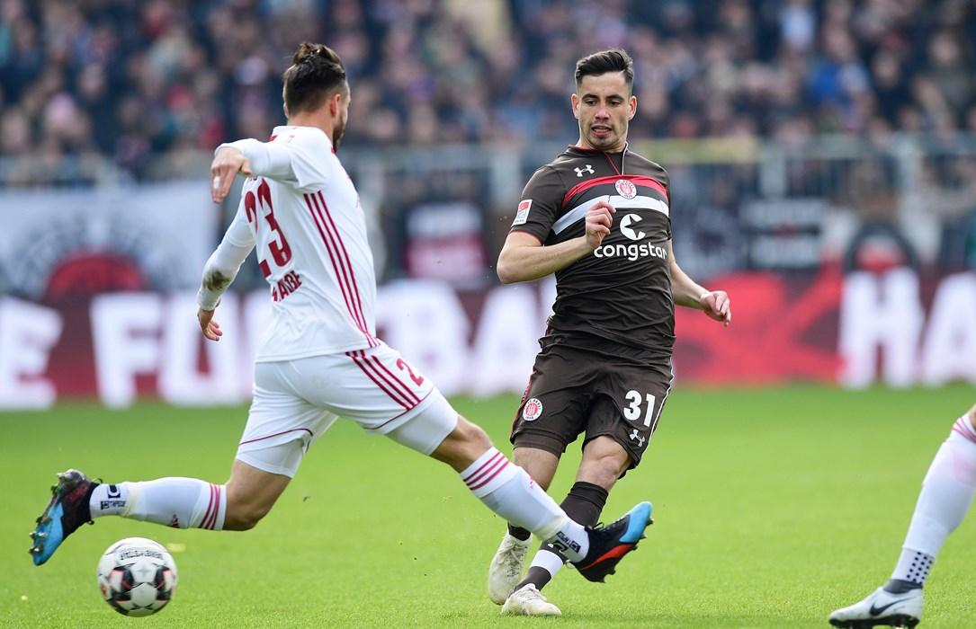 Ersin Zehir feierte im Heimspiel gegen den FC Ingolstadt sein Startelfdebüt.