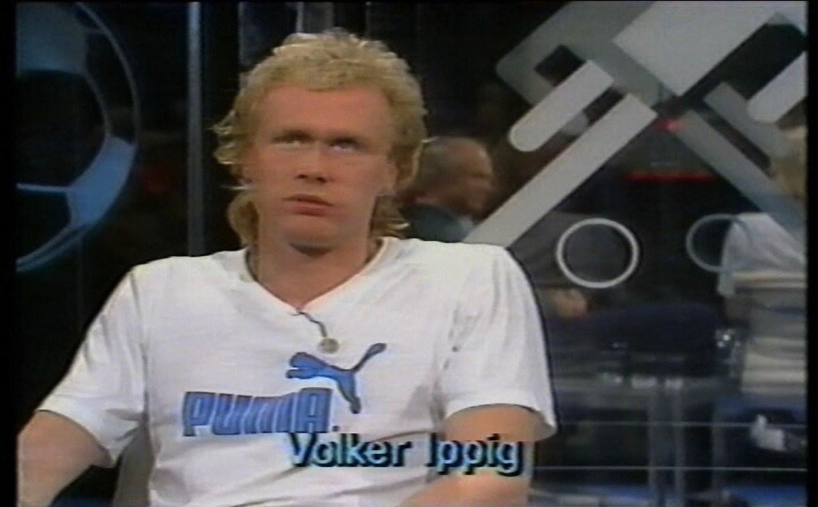 Ungeplante Mediensensation: Eigentlich war Volker Ippig nur nervös...