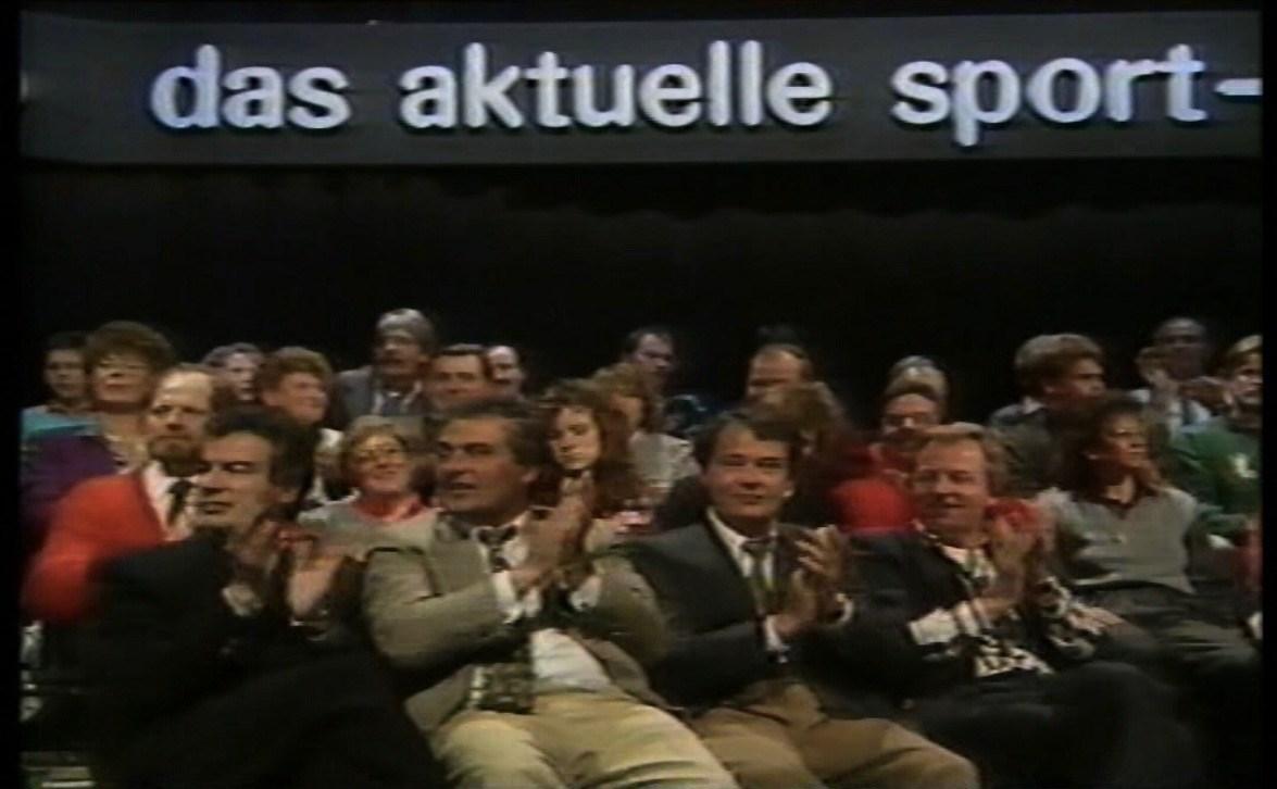 Die Zuschauer im Studio und vor den Bildschirmen hatte Volker Ippig schnell auf seiner Seite.