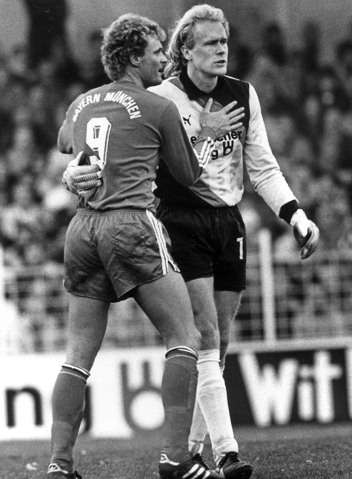 1988: Volker Ippig gegen Bayerns Roland Wohlfahrt