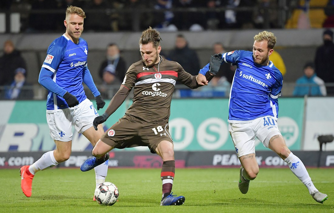 The 2-1 defeat at Darmstadt was the lowest point of the season for Dimitrios Diamantakos.