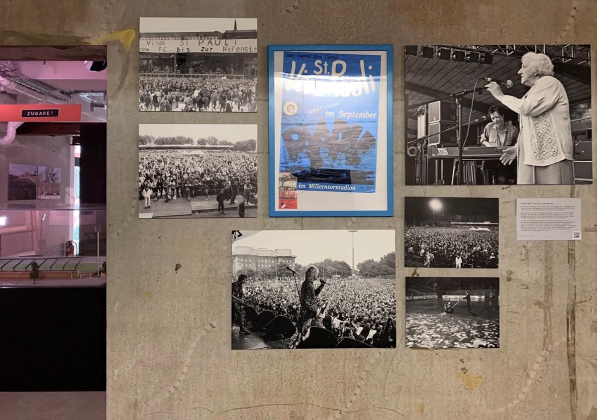 In der KIEZBEBEN-Ausstellung gibt es u.a. tolle Bilder von Marily Stroux und Günter Zint vom VIVA ST. PAULI-Festival zu sehen.