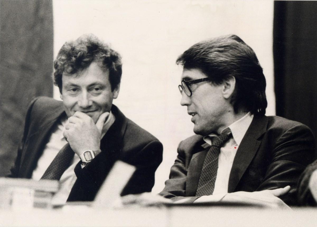 Zwei Präsidenten der Vorbeben- und KIEZBEBEN-Zeit: Wolfgang Kreikenbohm (ab 1979, links) und Otto Paulick (rechts, ab 1982).