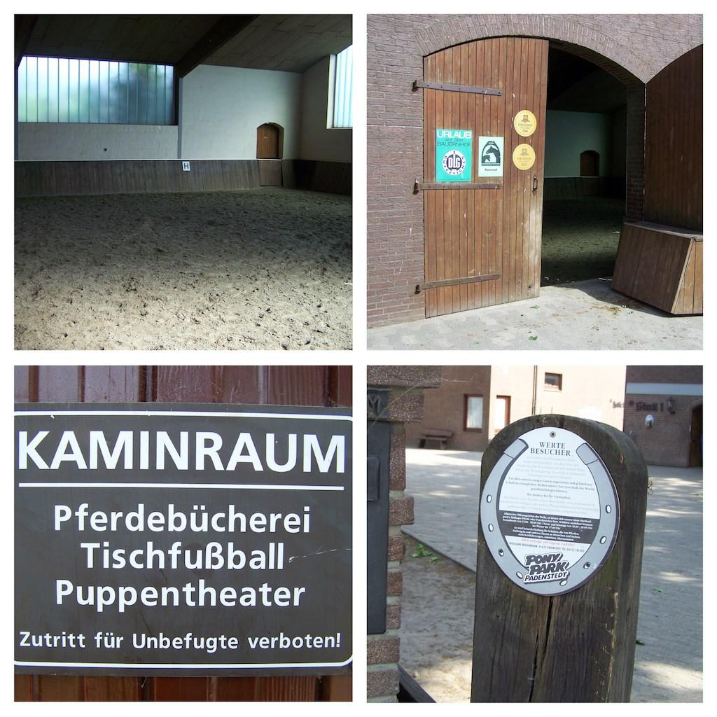 Auf diesem Ponyhof trainierte tatsächlich einst die erste Mannschaft des FC St. Pauli.