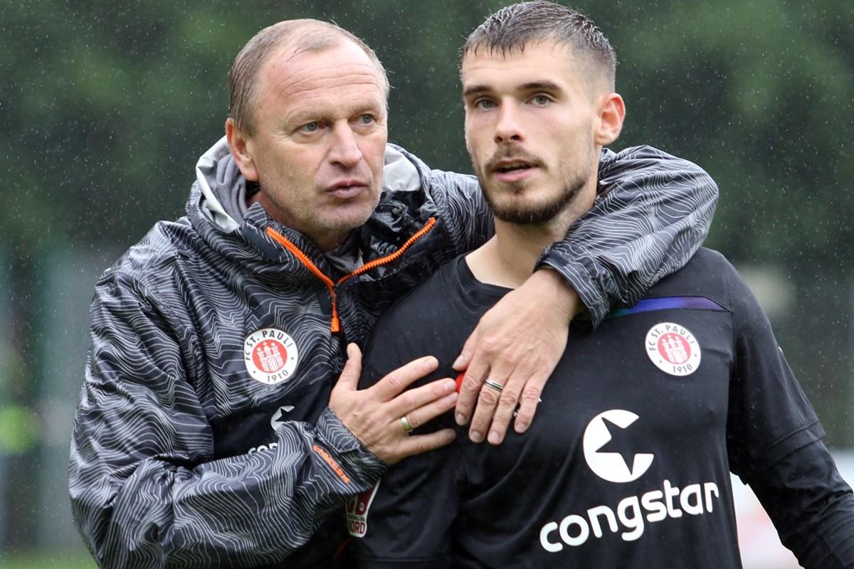 Bereit für die nächste Aufgabe: U23-Cheftrainer Joachim Philipkowski und Offensivallrounder Christian Stark.