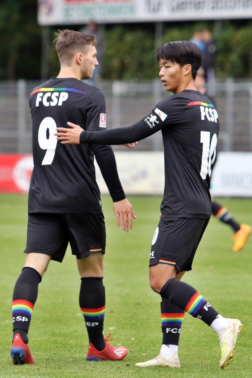 Alle zusammen: Die U23 braucht dringend einen Sieg gegen den Hannoverschen SC.