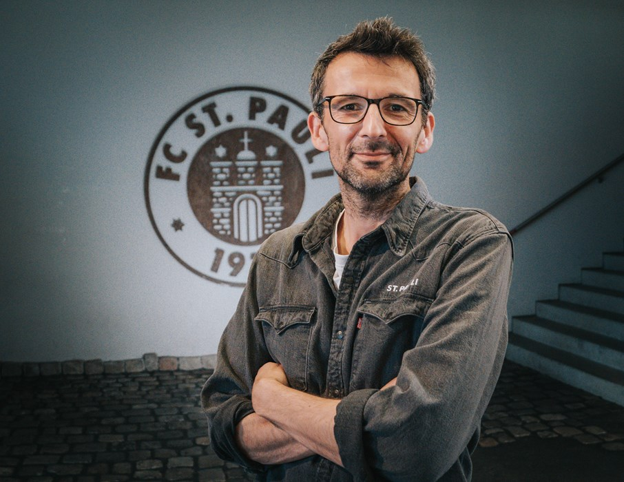 Michael Thomsen leitet beim FC St. Pauli inzwischen seit über zwei Jahren den Bereich CSR.