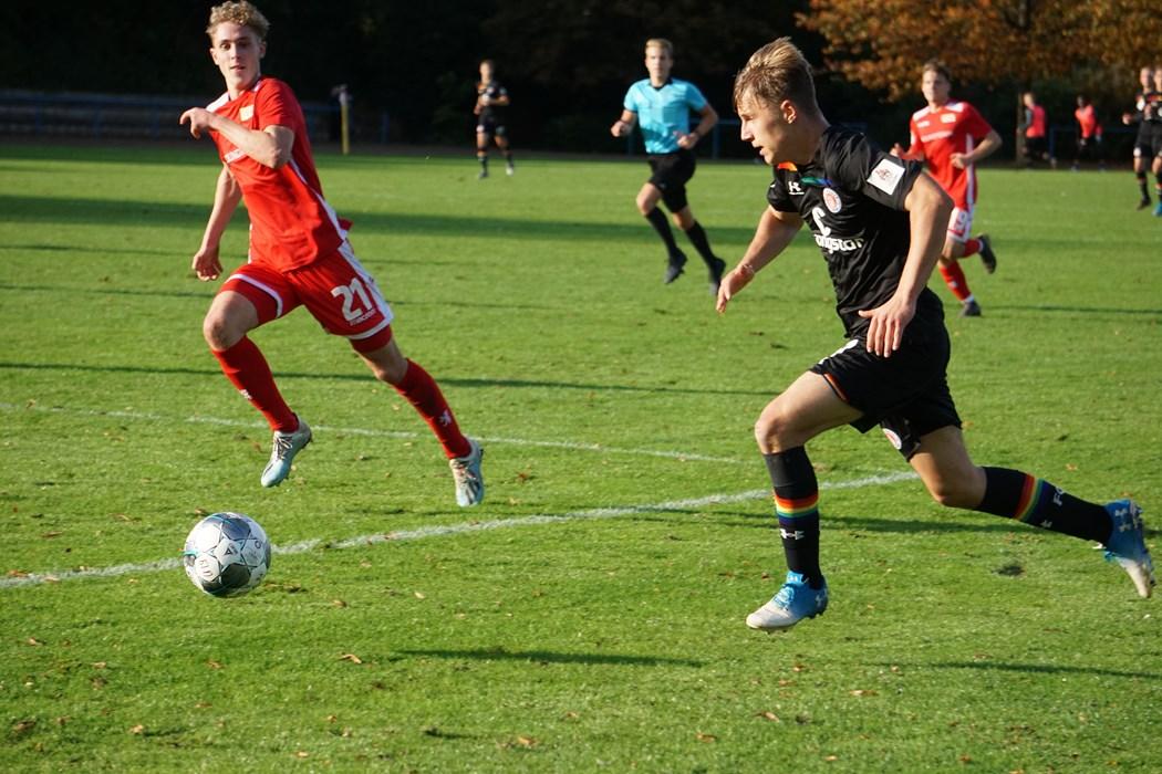Bereit für den nächsten Coup? Sascha Voelcke und die U19 gastieren bei Tabellenführer Werder Bremen.