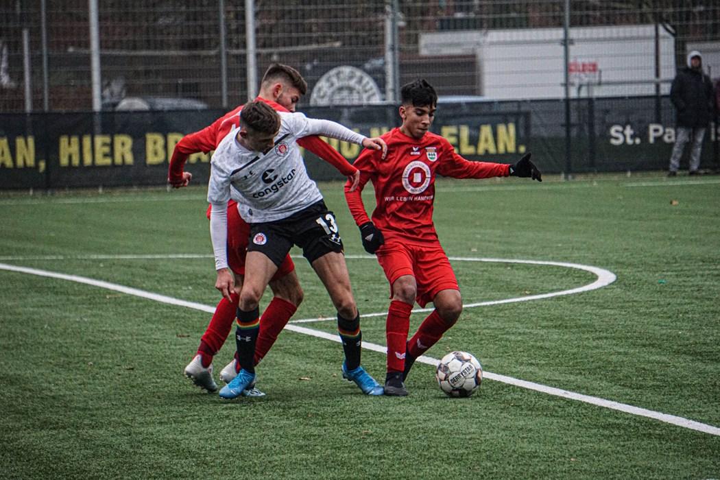 Samed Skrijelj und die U16 treffen im ersten Heimspiel des Jahres auf den JFV Nordwest.