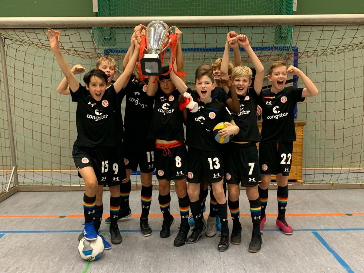 Unsere U13 feierte beim Winter-Cup des SCVM einen verdienten Turniersieg,