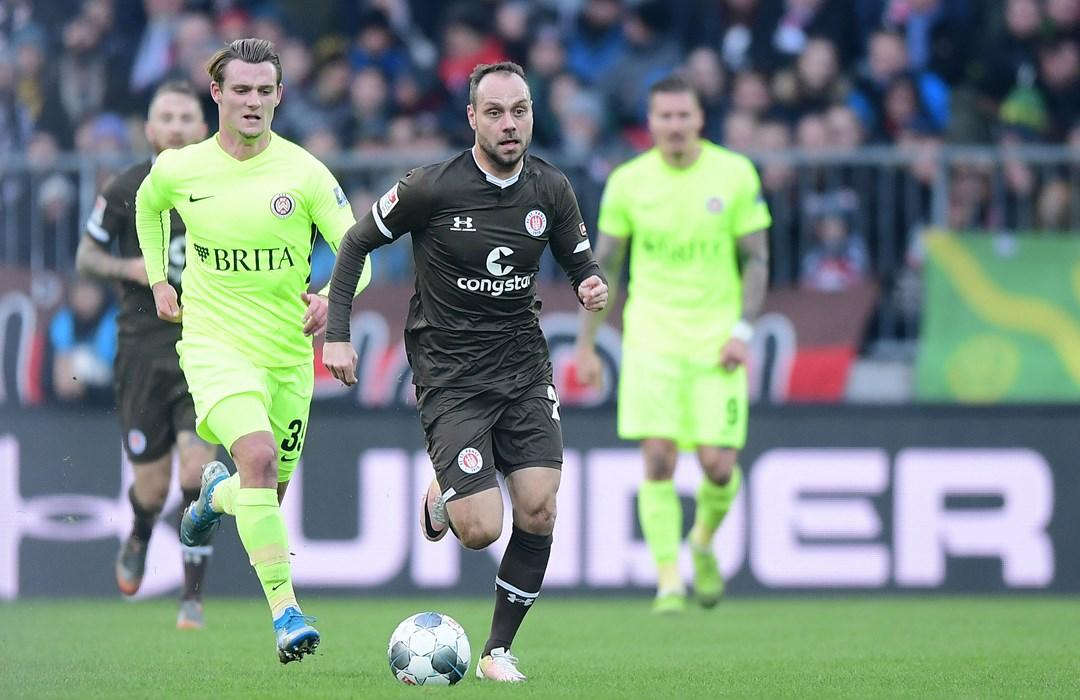 Im Heimspiel gegen Wehen Wiesbaden kam Rico Benatelli erstmals in der Saison zum Einsatz.