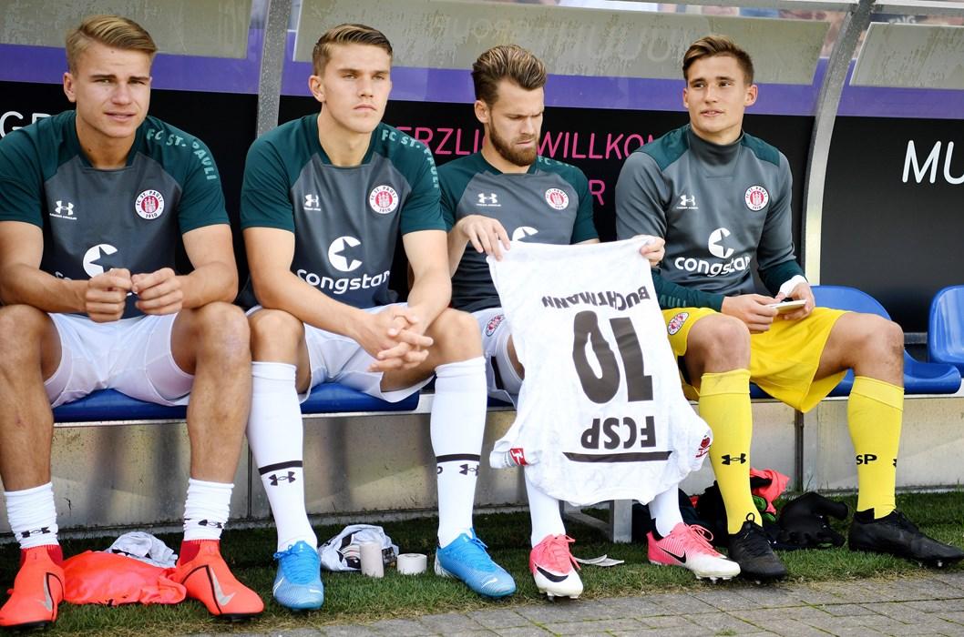 Beim Spiel in Osnabrück nahm Gyökeres noch auf der Bank Platz, eine Woche später stand er gegen Sandhausen erstmals in der Startelf und erzielte sein erstes Tor für unseren FCSP.