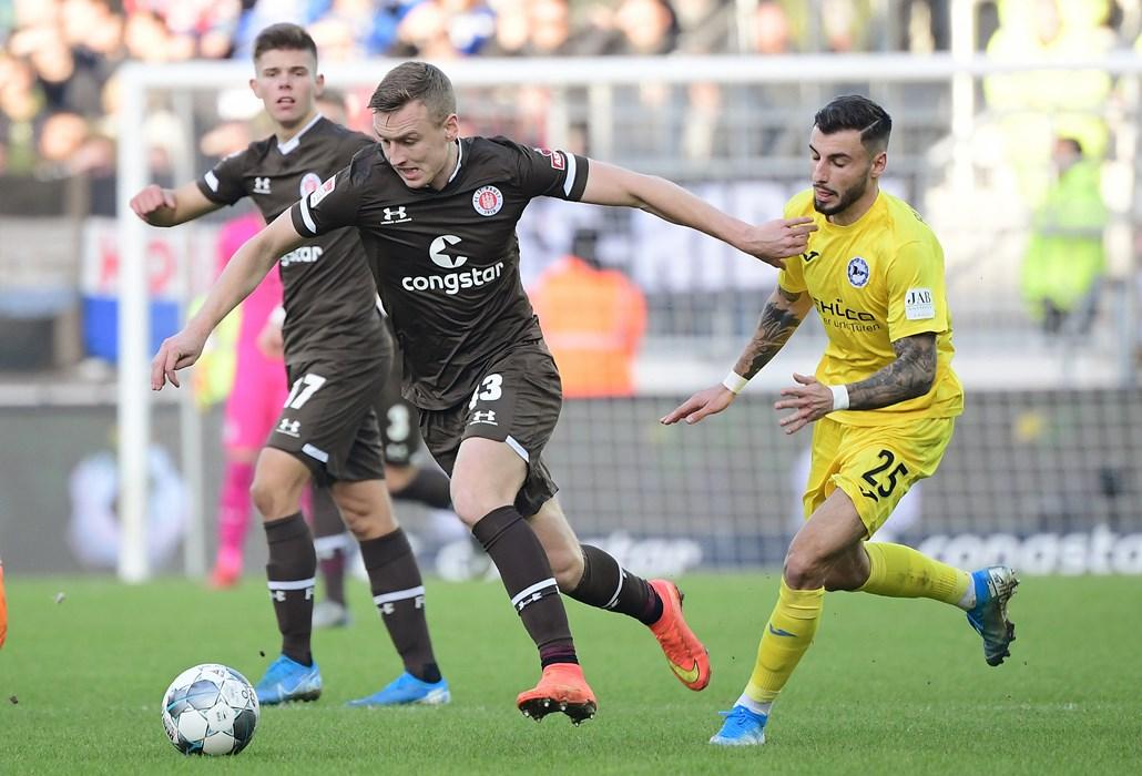 Auch im letzten Spiel des Jahres gegen Arminia Bielefeld lieferte Sebastian Ohlsson eine starke Leistung ab.