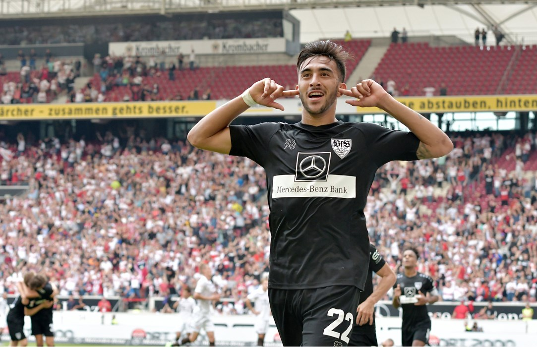 Nicólas González left the Boys in Brown with long faces after scoring a late winner in the reverse fixture.