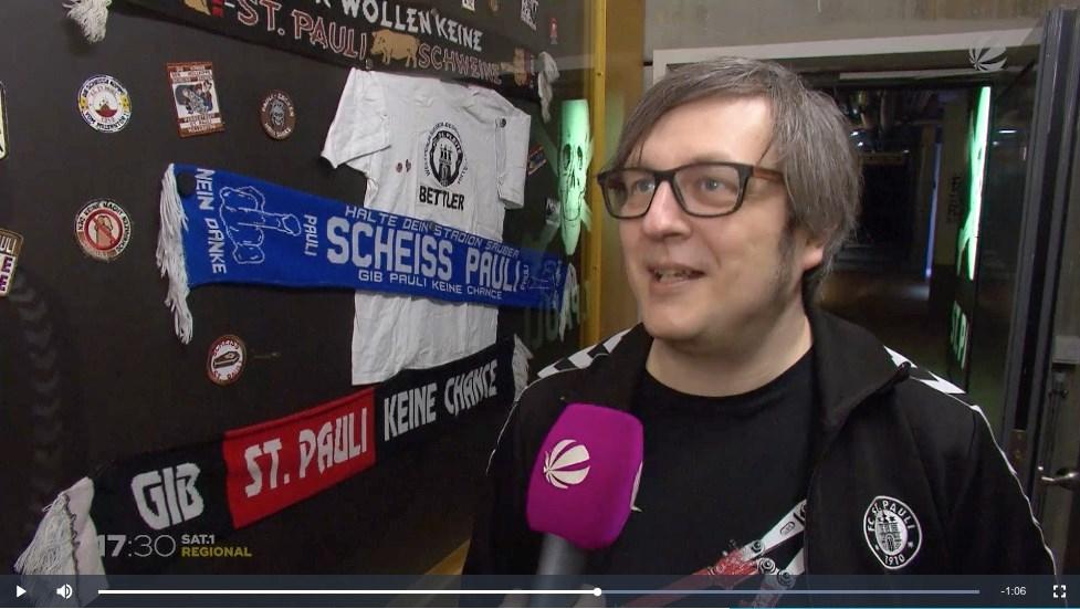 """Vermutlich auch am Freitag (14.2.) wieder am Millerntor zu hören: Der Klassiker """"Sch... St. Pauli"""". Das FC St. Pauli-Museum hat ihm ein eigenes Ausstellungssegment gewidmet."""