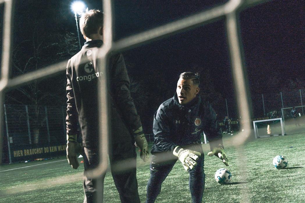 Mirco Weiß ist mittlerweile primär für die Keeper der U17 & U16 zuständig.