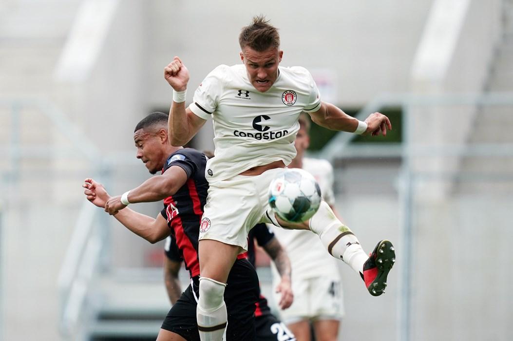 Leo Østigård traf zum zwischenzeitlichen 1:2 und erzielte seinen ersten Treffer für unseren FCSP.