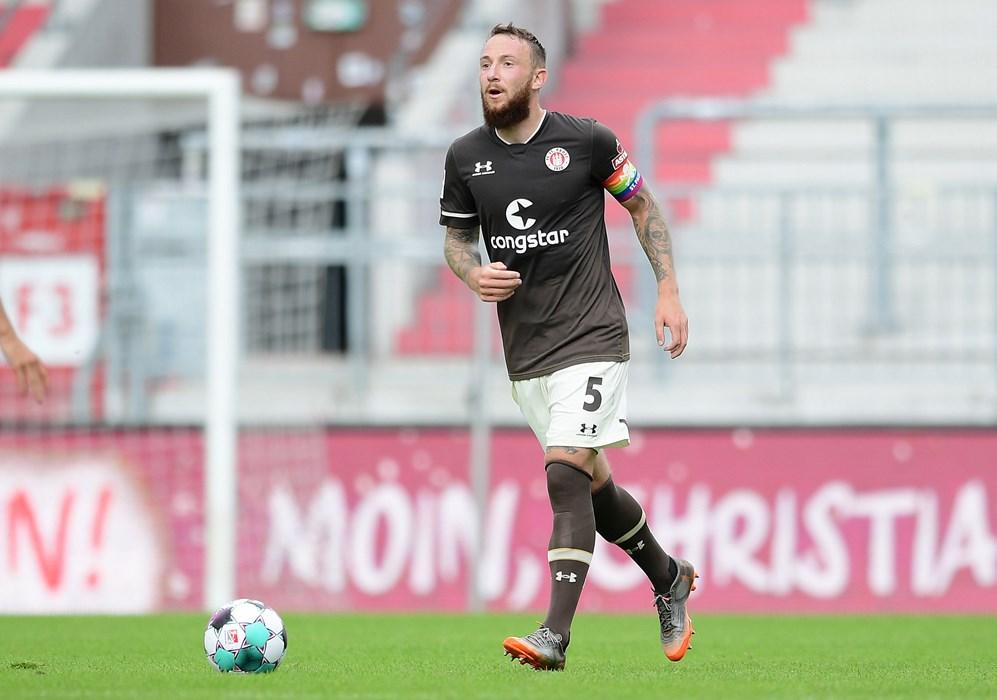 Marvin Knoll lief zuletzt bei der Generalprobe gegen SønderjyskE als Kapitän auf und ist in der Saison 2020/21 Avevors Stellvertreter.