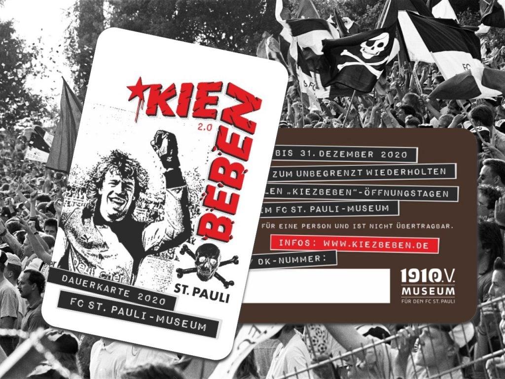 """Zwei Ausstellungen – ein Ticket (hier: die KIEZBEBEN-Soli-Dauerkarte):  Die Dauerausstellung """"KIEZBEBEN 2.0"""" bleibt parallel zur Sonderausstellung geöffnet."""